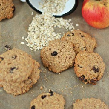 Bratapfel Cookies mit Haferflocken – herrlich soft und soooo lecker