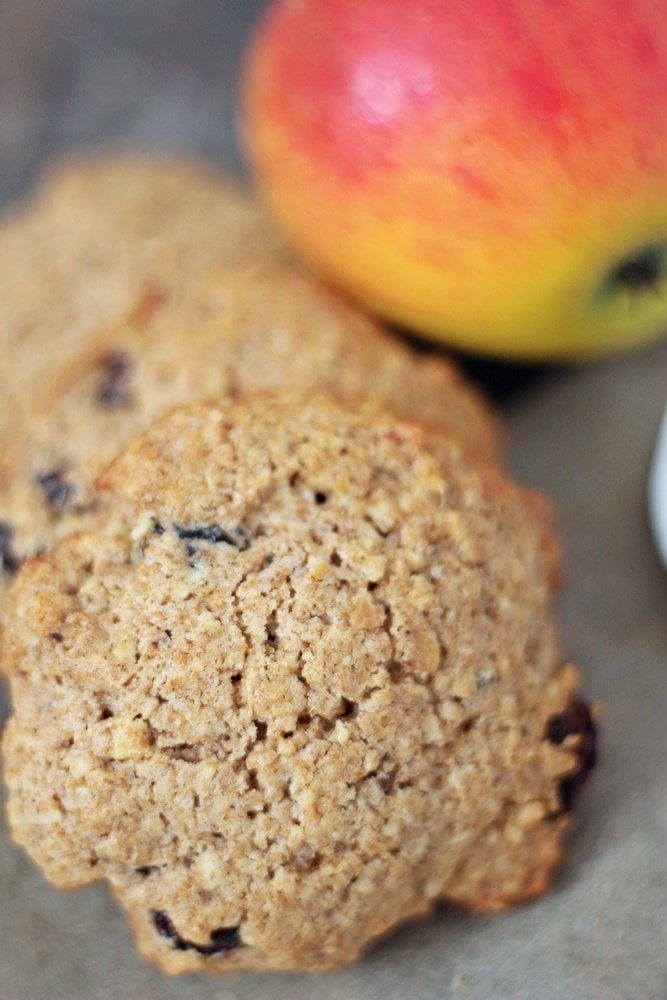 Bratapfel Cookies, Haferflocken, Apfel, Zimt, gesund, Snack
