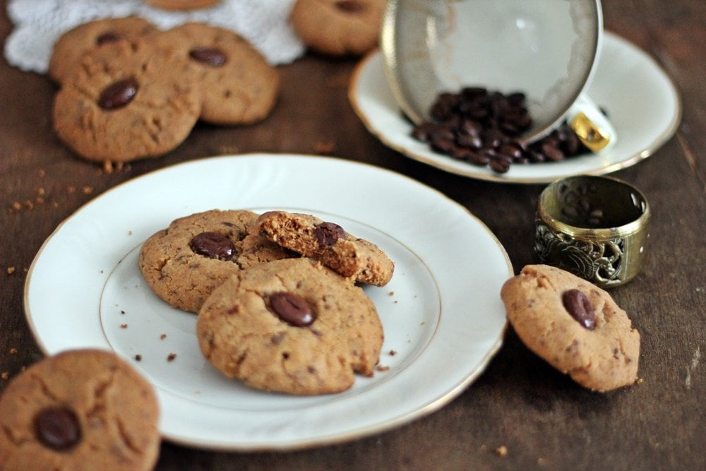 Kaffeecookies, Cookies, Backen, Rezept, Mokkabohne