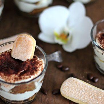 Tiramisu ohne Ei, Kaffee, Rum, Nachspeise, Dessert