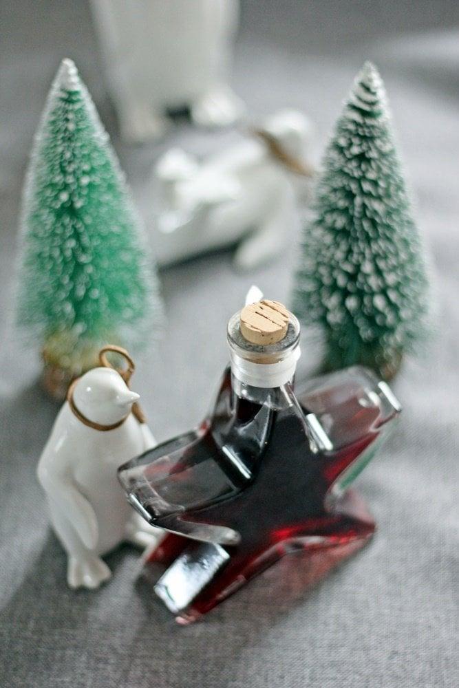 Kaffee-Rotwein-Likör, Geschenk aus der Küche