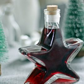 Kaffee-Rotwein-Likör