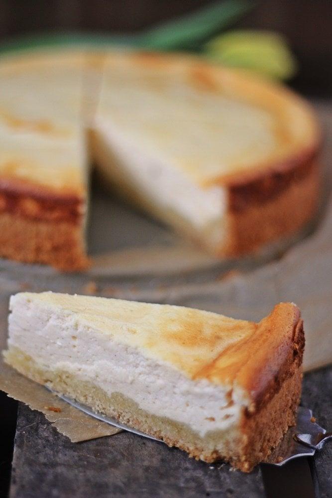 Weltbester gebackener Käsekuchen, zergeht auf der Zunge