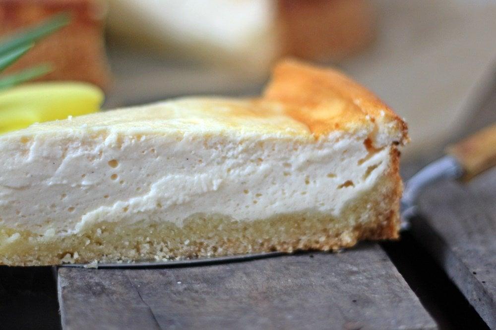 Weltbester gebackener Käsekuchen, Cheesecake, Käsekuchen, zitronig