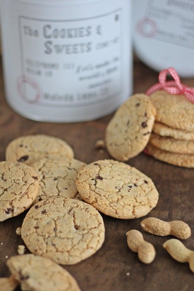 Cookies, Weihnachtsbäckerei, Nuss-Orangen-Cookies, Rezept