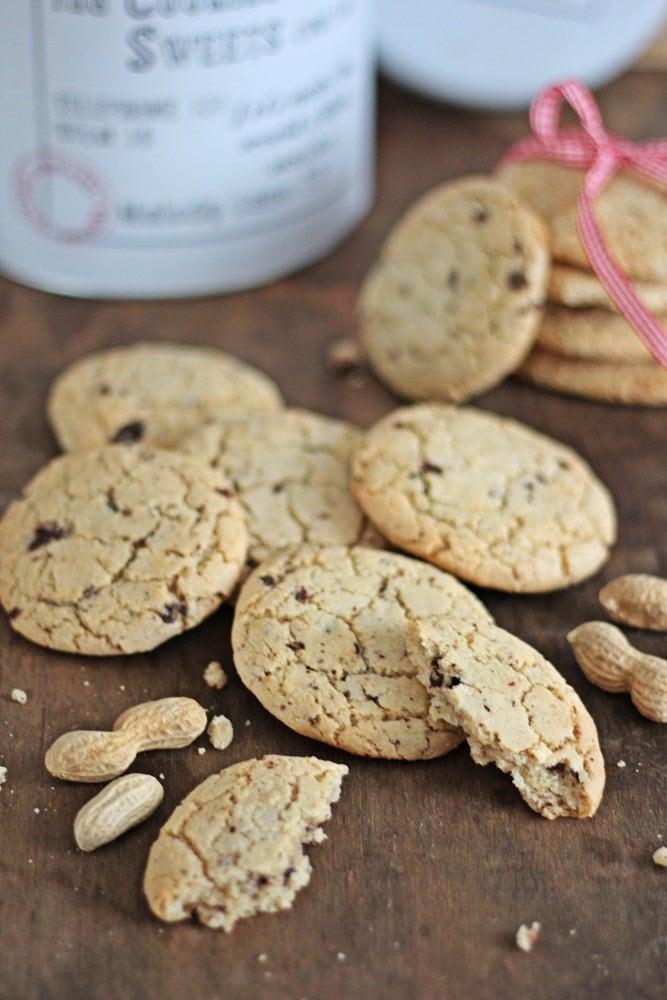 Cookies, Weihnachtsbäckerei, Nuss-Orangen-Cookies, Rezept, Nüssen