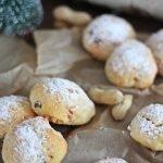 Quarkstollen Konfekt, Weihnachtsbäckerei