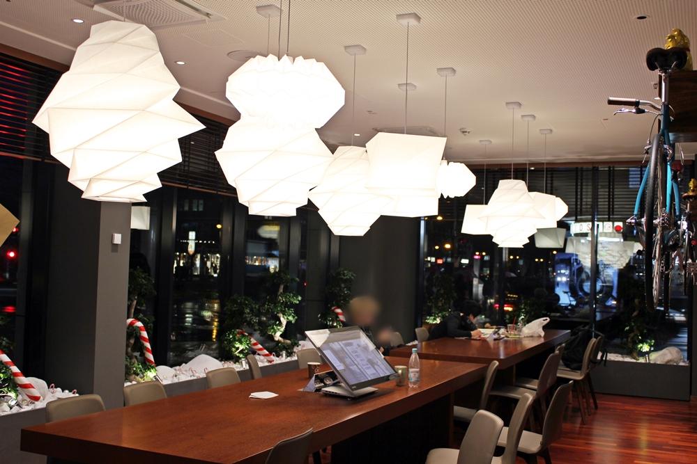 Coworking Area im me and all hotel düsseldorf